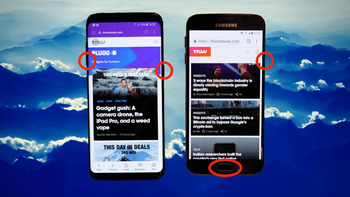Screenshot on your Samsung Galaxy phone