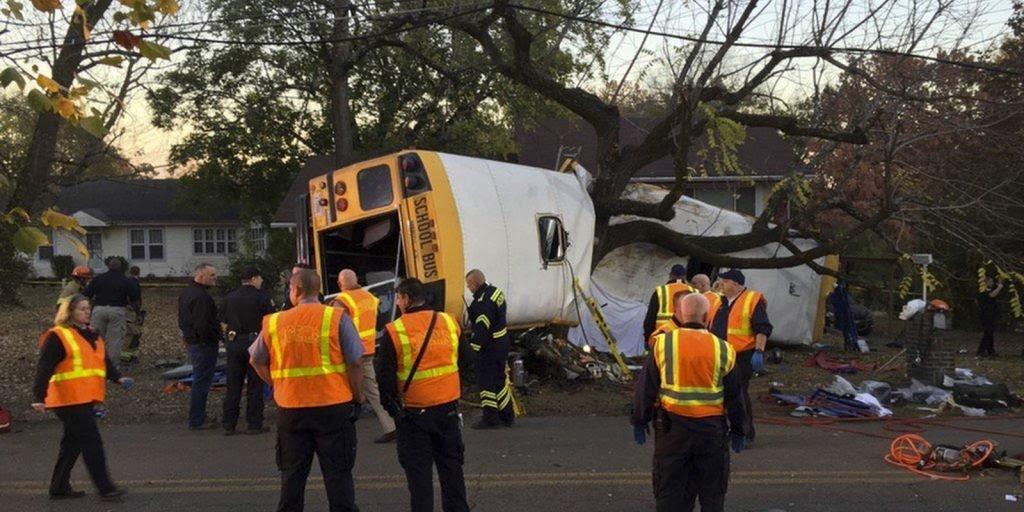 Stacy Wilson bus crime scene